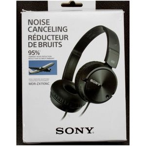 Sony 95% Noise Canceling Wired Headphones